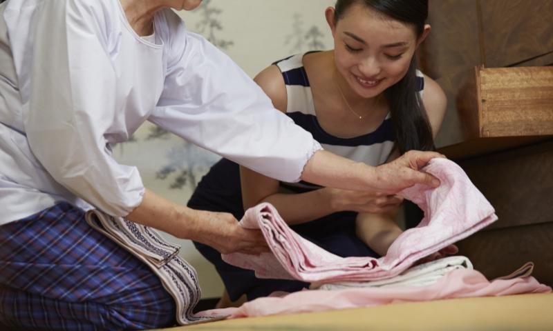 着物の収納